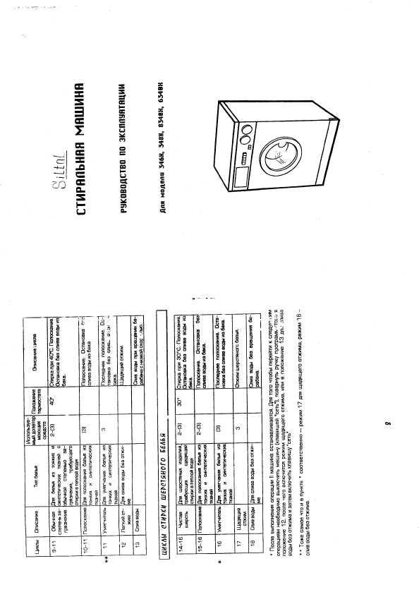 Инструкция Siltal 6340X