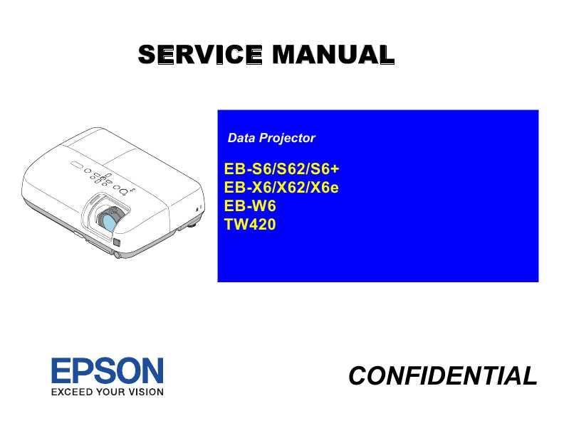 Epson Eb-x6e Инструкция