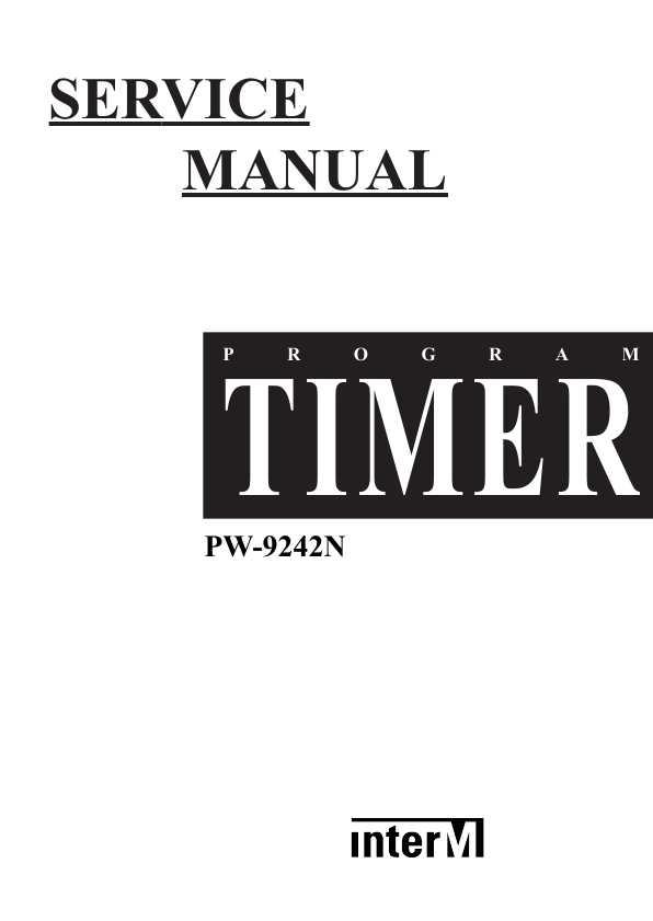 инструкция pw-9242n