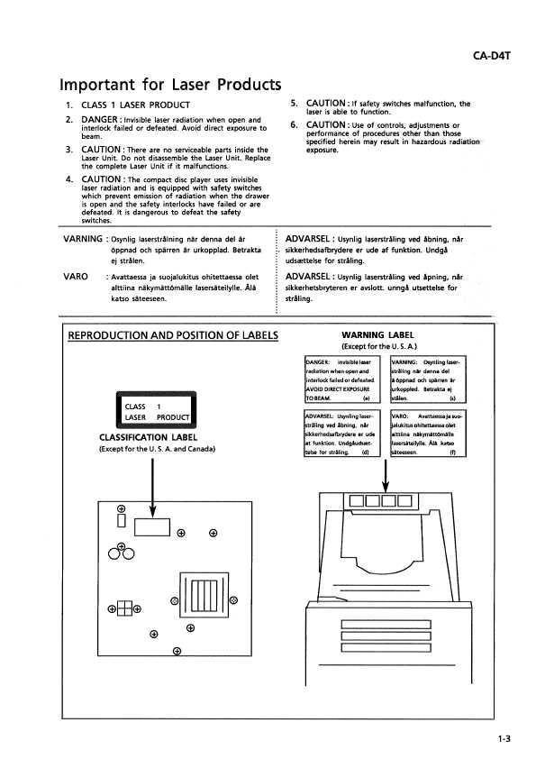 Jvc ca-d4t инструкция