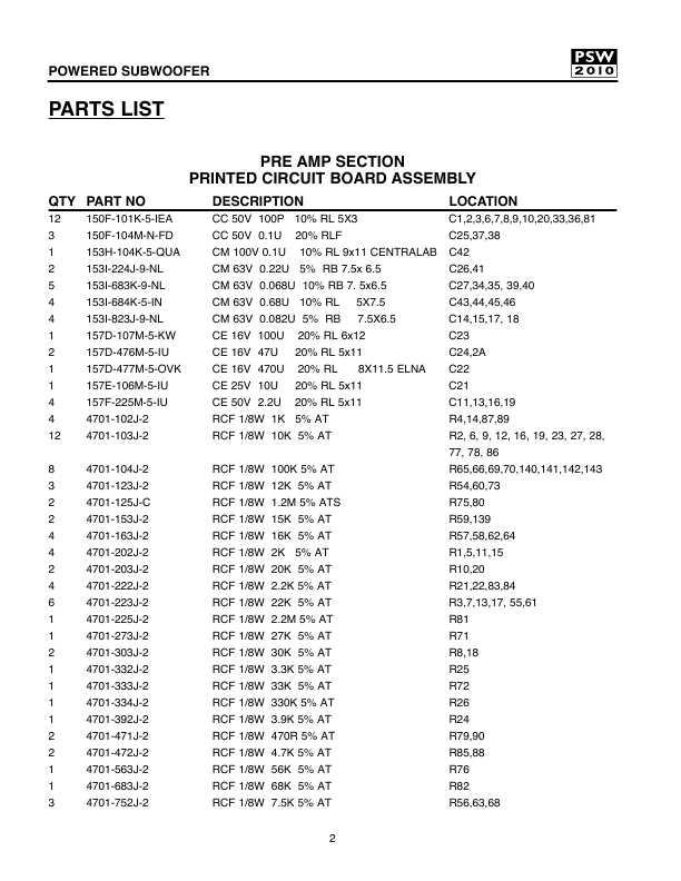 service manual kef psw 2010 u2015 manual shop ru rh manual shop ru PSW Monitoring PSW Visa