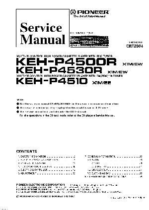 Pioneer Keh-p4510 Инструкция - фото 6